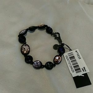 NWT DKNY Colorful Stones Bracelet